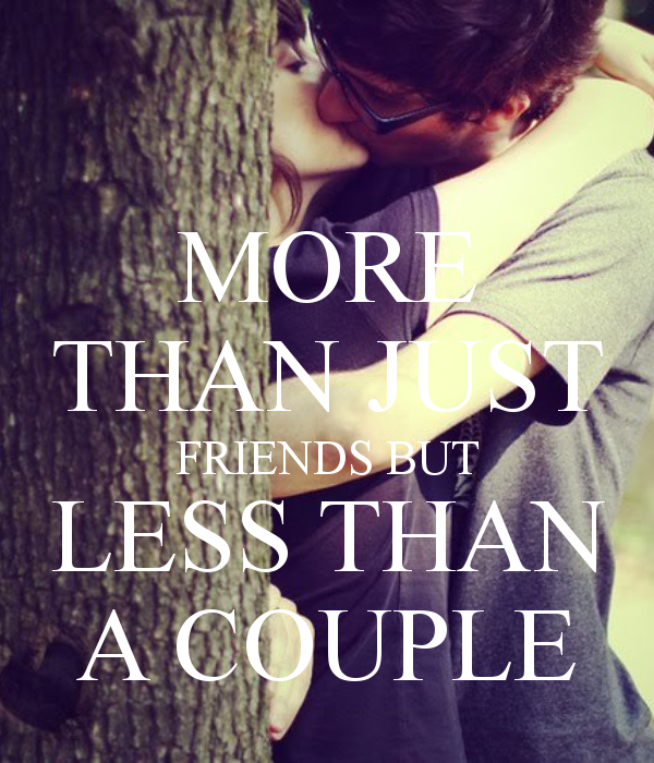 More than a hookup less than a relationship